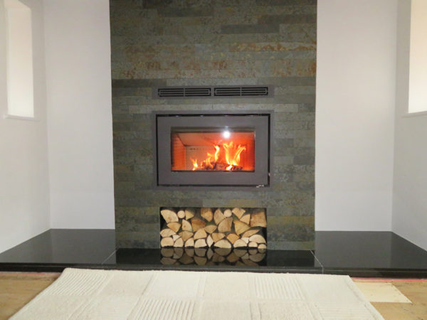Rais 700 insert wood burner