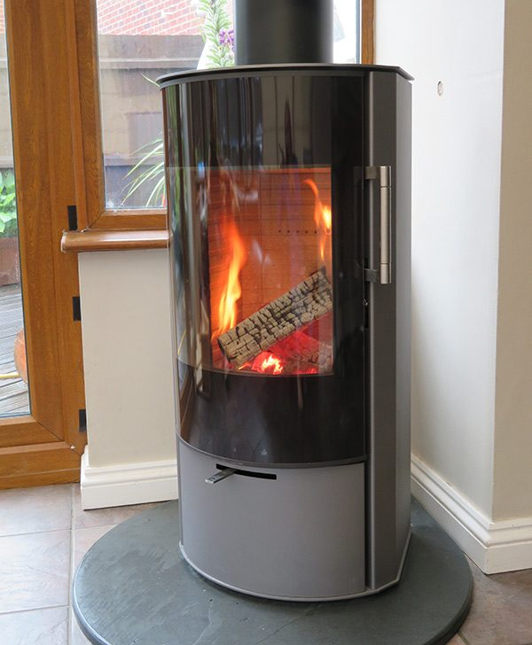 Rais Rina woodburner in derbyshire