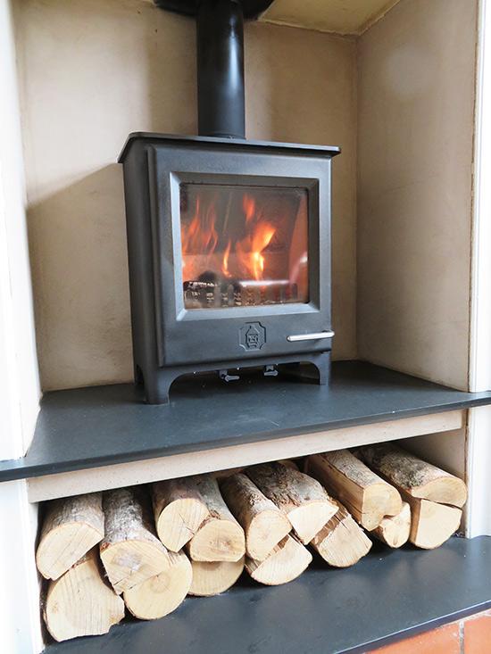 Woodwarm Firegem multifuel in Wishaw