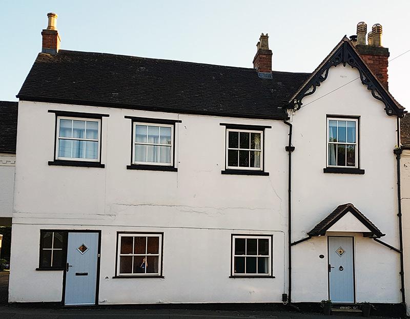 Residence 9 window system in Lichfield before