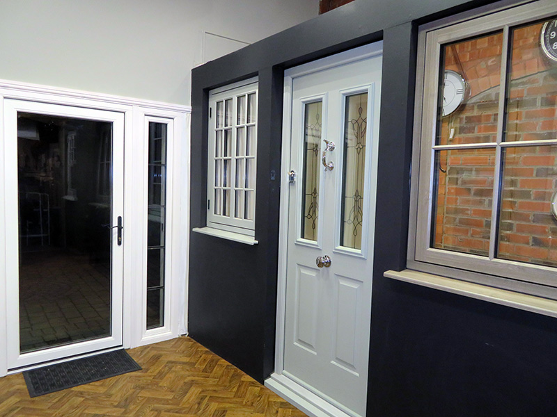 Ebben & Yorke Windows and Doors showroom
